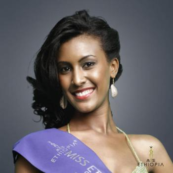 Miss Genet Tsegaye , Miss Ethiopia World is the Guest of Honor