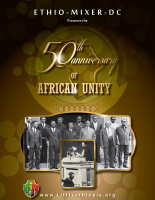 On May 24th Washington DC Celebrated the 50th Anniversary of the Founding of OAU
