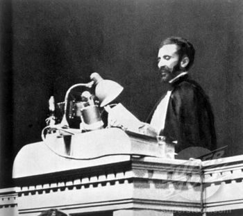 The Emperor Appealing the League of Nations for Assistance as well as Condemning the Use of Chemical Weapons by the Italians.